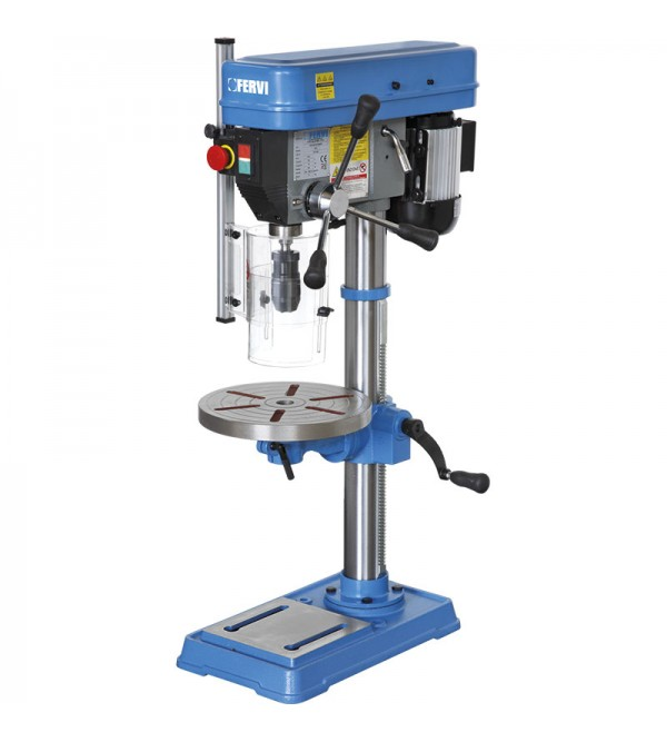 Drill press with drive belt Fervi 0012