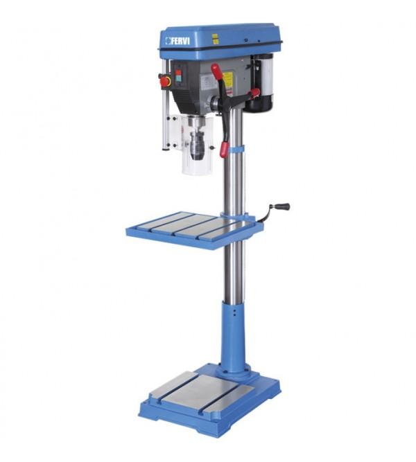 Floor drill press with drive belt Fervi 0754/230V