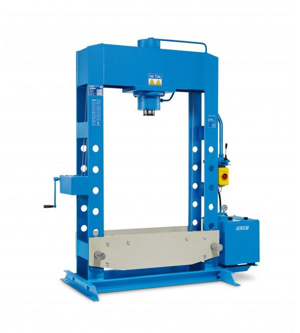 Pressa elettroidraulica 100 Ton. Omcn 164