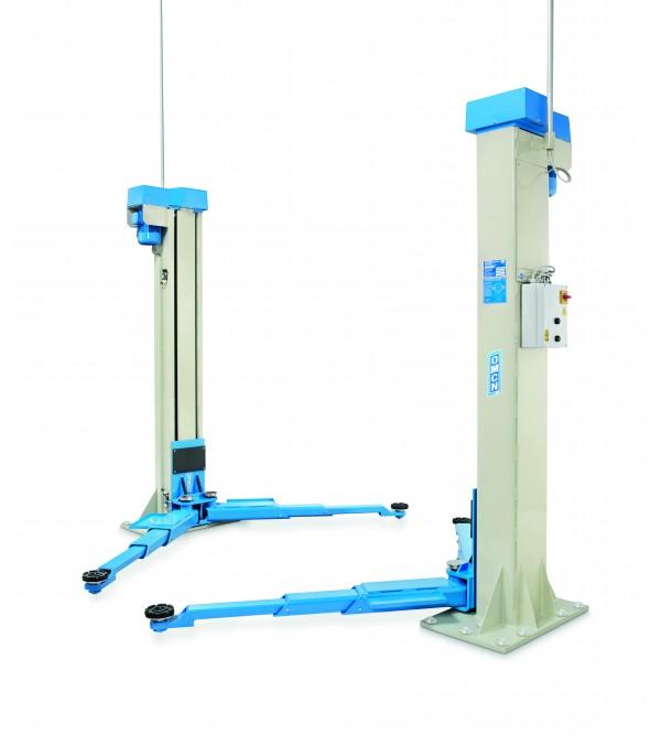Ponte sollevatore elettroidraulico a 2 colonne Omc...