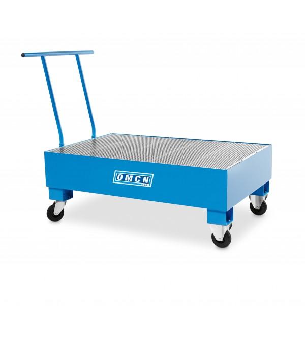 Pedana PortaFusti 285 Litri con ruote Omcn 5001/M