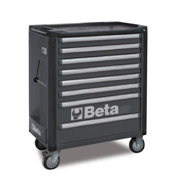 Carrello Porta Utensili 8 cassetti Grigio Vuoto Beta C37/8