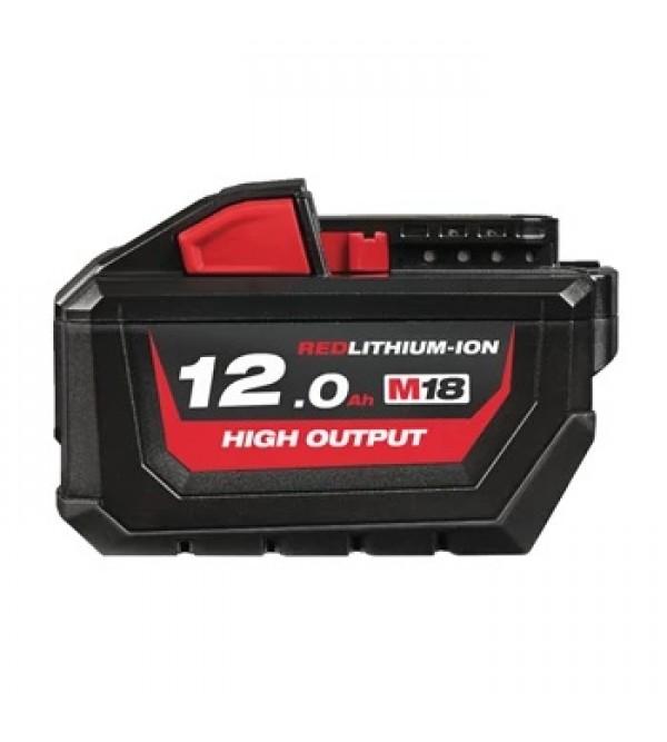 M18 high output 12.0 ah battery Milwaukee