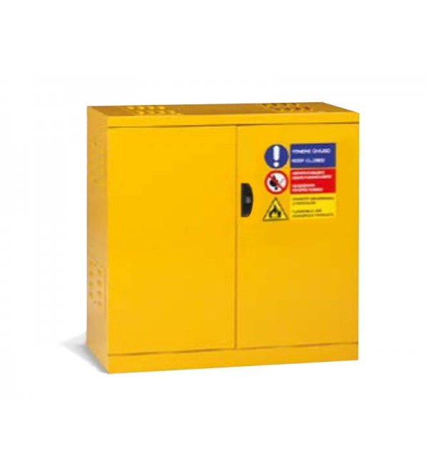 Safety cabinet for paints and solvents 103X55X108H