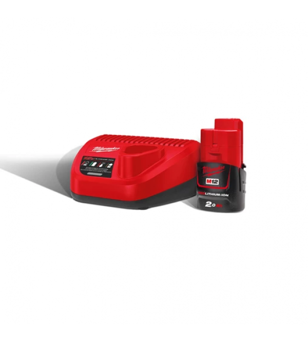 Energy pack M12 NRG-201 (+ battery charger)
